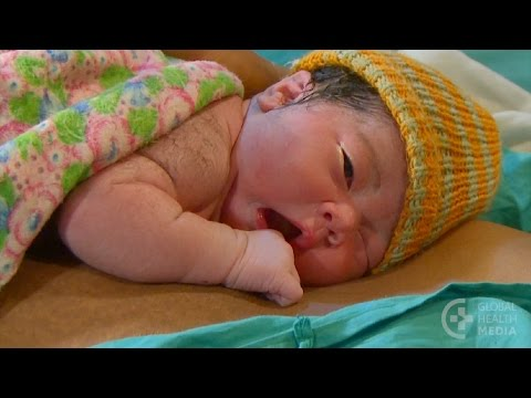 Breastfeeding in the First Hours After Birth (Slovak subtitles) - Breastfeeding Series