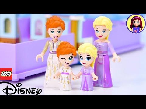 Teeny Lego Minidolls 😱? Baby Elsa & Anna In Lego Storybook Adventures Build