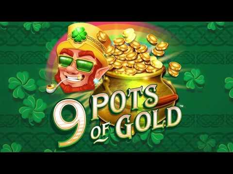 9 Pots of Gold Online Slot Promo