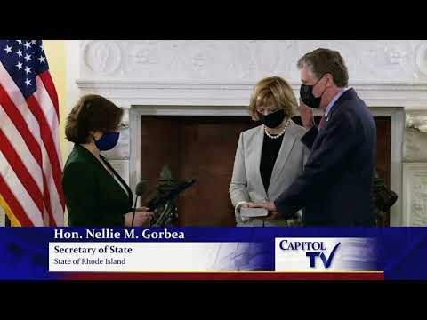 Daniel McKee Sworn in as Governor of Rhode Island
