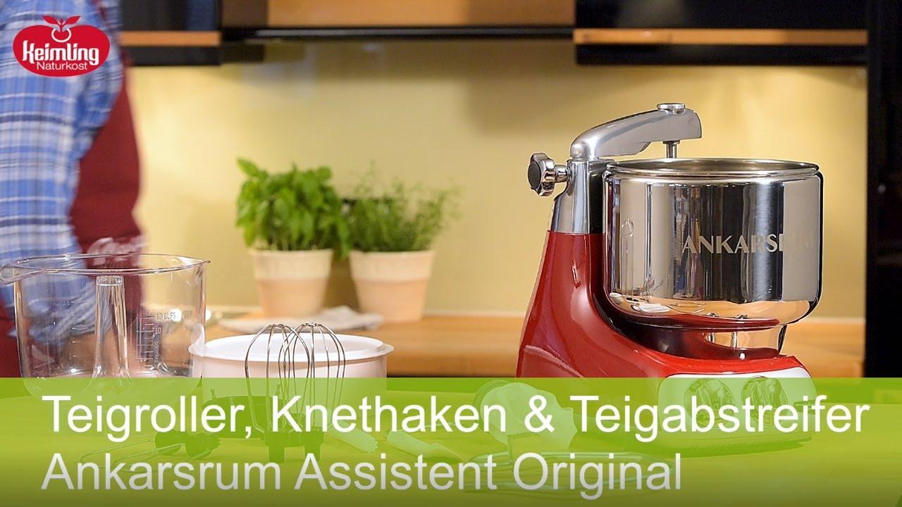 Ankarsrum Assistent Original Die Vielseitige Kuchenmaschine Youtube