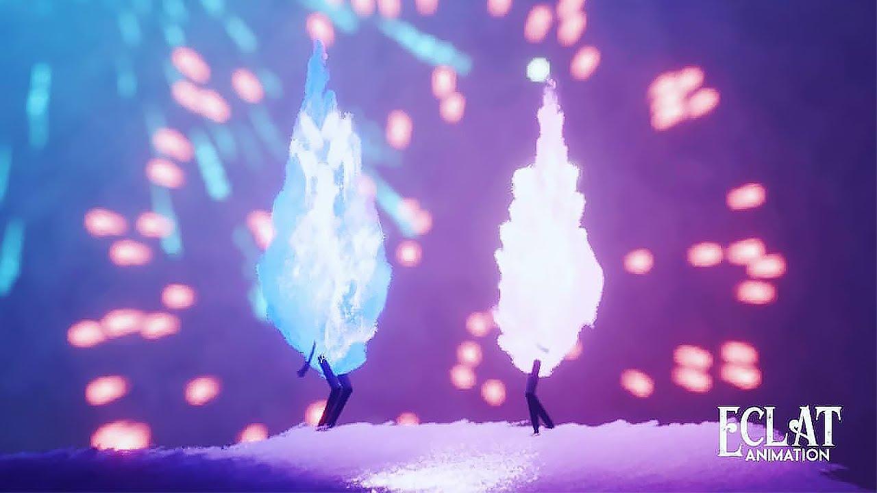 No importa el color, ni el lugar, por más frío que pueda parecer. El amor está por encima de todo eso. Sigue a esa llama que a todos, tarde o temprano, nos acaba tocando. FIRE LOVE - cgi 3D Animated Short Film 4K