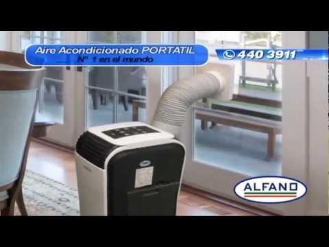 Alfano aire acondicionado youtube - Aire condicionado portatil ...