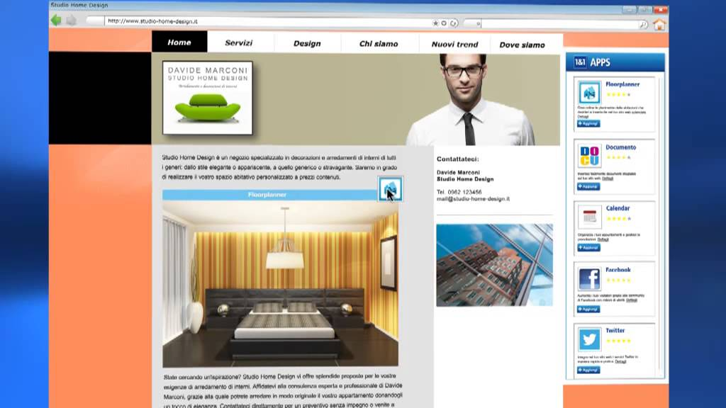 Crea il tuo sito web con 1 1 mywebsite doovi for Crea il tuo sito web personale
