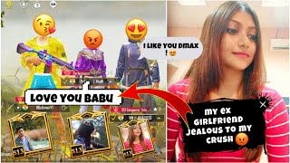 🔥 MY EX GIRLFRIEND JEALOUS TO MY CRUSH - PUBG MOBILE | my ex girlfriend challange to my crush 😤