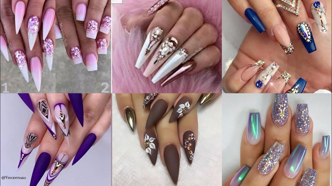 Most Beautiful And Trendy Women Fashion Nail Polish Art Design And Ideas 2021 Short Youtube