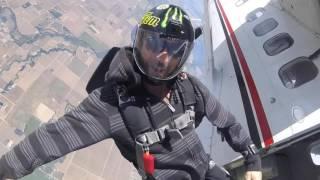 Tracking skydive Lodi