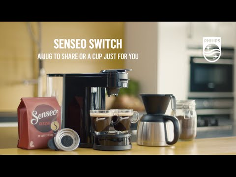 senseo switch coffee machine is a real 2 in 1 coffee maker philips hd7892 youtube. Black Bedroom Furniture Sets. Home Design Ideas