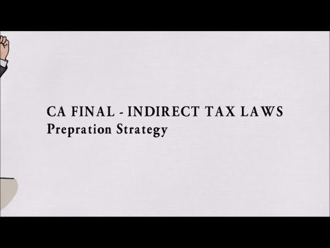 How to Pass & Score 60+ in CA Final Indirect Taxes (IDT) ?