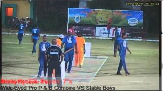 Wide Eyed Productions P&B Combine VS Stable Boys