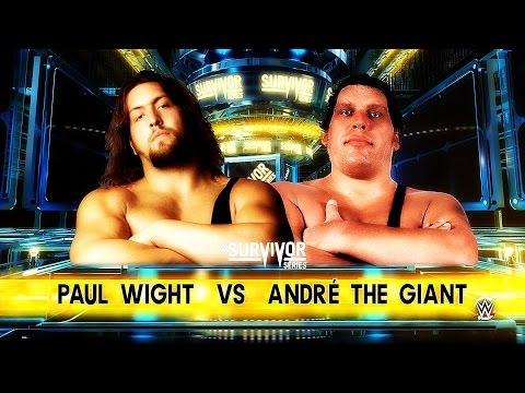 Paul Wight vs André The Giant WWE 2K16