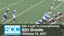 WBL Youth FB 8th Gr. Championship 2017