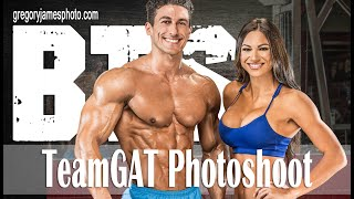 Gregory James BTS Fitness PhotoShoot | TeamGAT