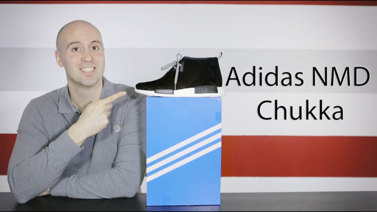 897b948e81a46 Adidas NMD Chukka Black - Unboxing + Review + On feet + Close up - Mr  Stoltz 2016