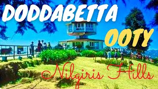 Ooty Doddabetta Highest Mountain in Nilgiri Hills India - Part I *HD*