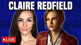 🔴LIVE Chat with Claire Redfield aka Stephanie Panisello from RESIDENT EVIL INFINITE DARKNESS