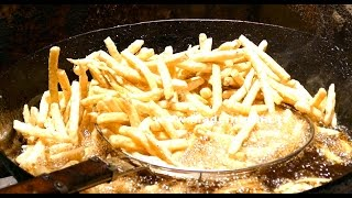 Perfect French Fries Recipe | Crispy Seasoned French Fries Recipe | DELHI STREET FOODS street food