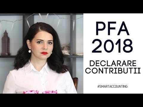 PFA in 2018 | Declarare si impozitare