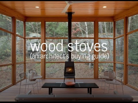 Wood stoves an architect 39 s buying guide what you need for Wood burning stove for screened porch