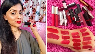 Video TOP 10 RED LIPSTICKS FOR INDIAN/ MEDIUM/ OLIVE SKIN TONE | Nidhi Chaudhary download MP3, 3GP, MP4, WEBM, AVI, FLV November 2017