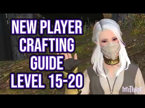 FFXIV 2.56 0592 New Player Crafting Guide Level 15 to 20