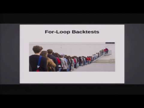 """""""When Should You Build Your Own Backtester?"""" by Dr. Michael Halls-Moore"""