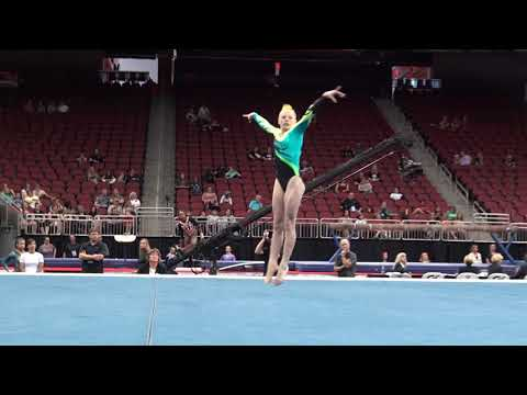 Lyden Saltness – Floor Exercise – 2019 GK U.S. Classic – Junior Competition