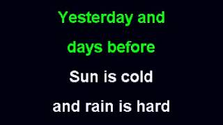 CCR Have you ever seen the rain karaoke) (Low)