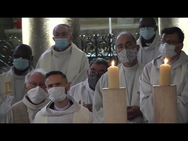 Renouvellement des vœux des prêtres, messe chrismale 2021