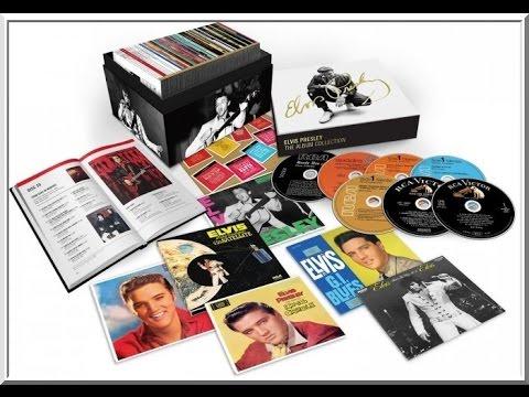 """""""Elvis Presley - The Album Collection"""". Un Coffret 60 CD's pour Fêter les Mamans le 12 Mai"""