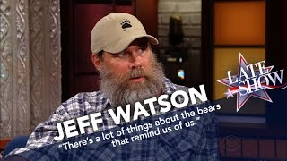 Jeff Watson On How To Survive A Bear Attack