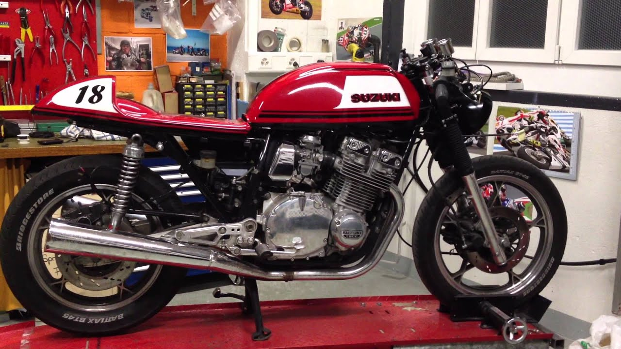 Bien connu Suzuki GSX 1100 cafe racer - YouTube IY58