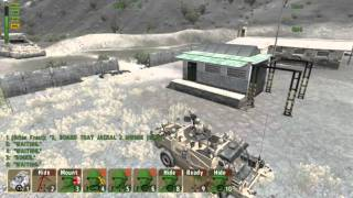 LetsPlay ARMA II: British Armed Forces Part 3: TAKE COVER!!!!!