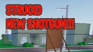 🔴 New Advanced Shotgun | Roblox Strucid