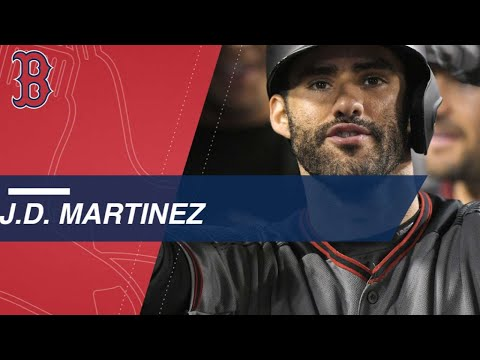 Check out J.D. Martinez's 45 Home Runs in 2017
