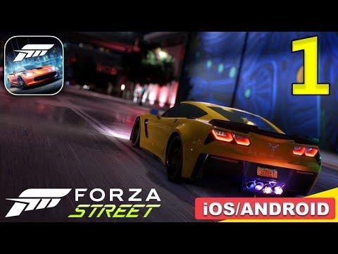 FORZA STREET MOBILE - (Android,iOS) Gameplay Walkthrough - Part 1
