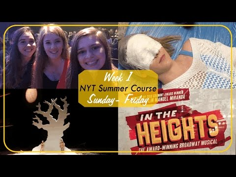 National Youth Theatre Technical Course: Week 1 (Part 1)