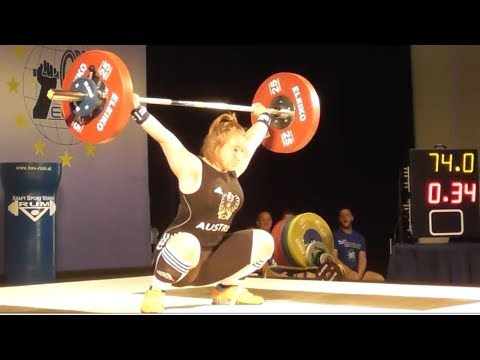 Victoria Steiner - U15 female 2018 - EU Weightlifting Cup - Innsbruck / AUT
