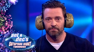 Read My Lips With Hugh Jackman - Saturday Night Takeaway