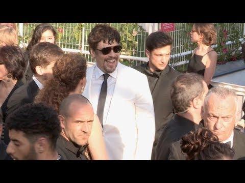 Benicio Del Toro at the 2018 Cannes Film festival closing ceremony
