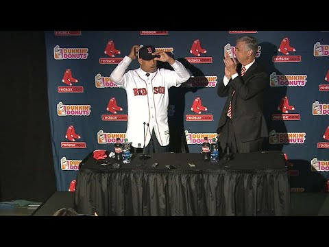 Cora introduced by Red Sox as club's 47th manager