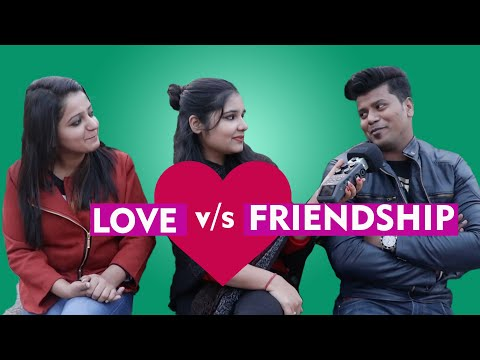 Love vs Friendship | Delhi Reaction | Viral Square |