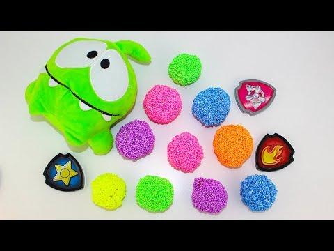 Щенячий паруль Мультик про игрушки Сюрпризы АМ НЯМ Учим цвета Мультики для детей Learn colors with