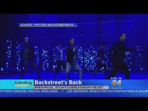 Trending: Backstreet Boys Release New Single