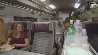 On board the Eurostar