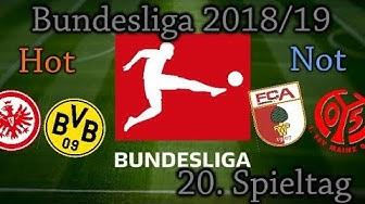 BUNDESLIGA 18/19 20.Spieltag - Vorschau und Tipps