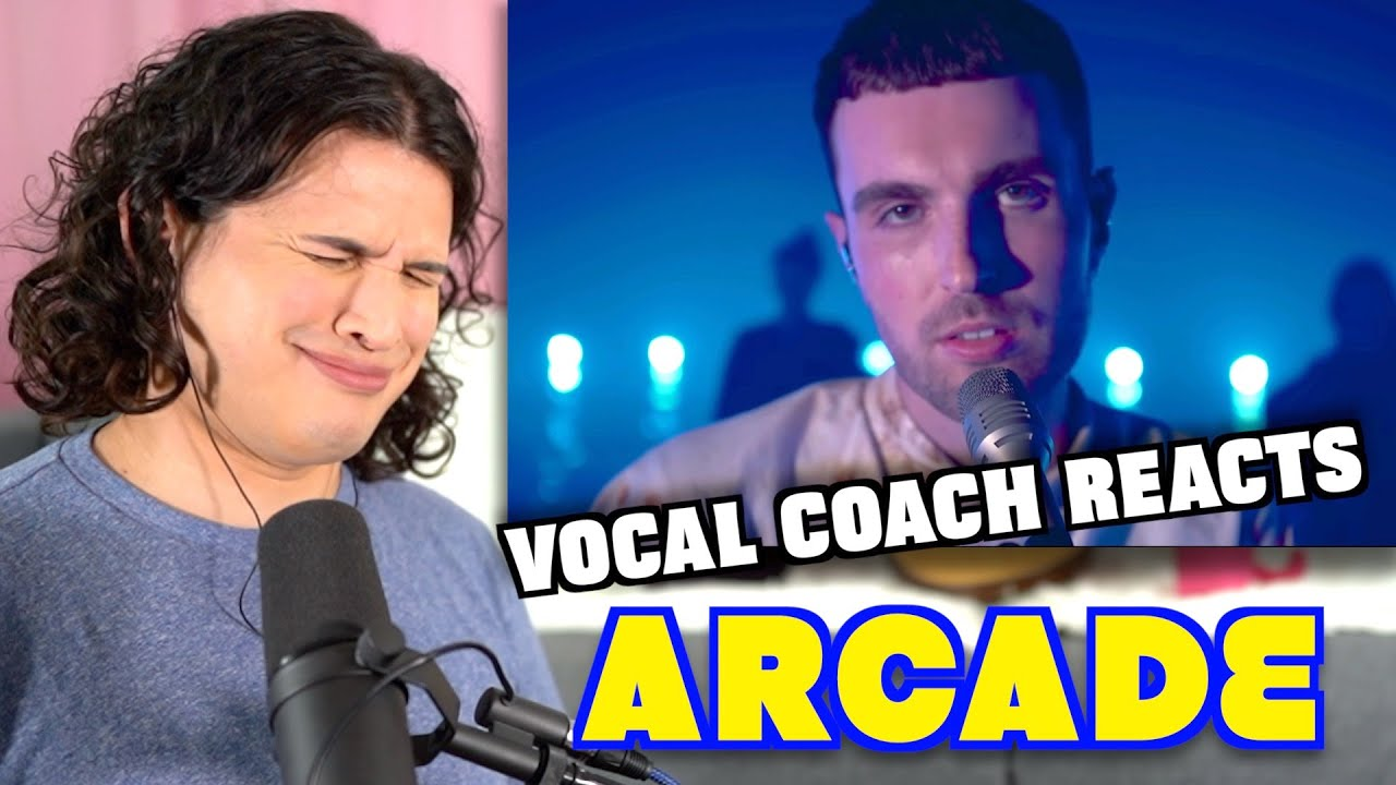 Vocal Coach Reacts to Duncan Laurence - Arcade