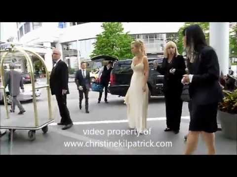 Luisana lopilato & Michael Buble  Wedding Reception in Canada