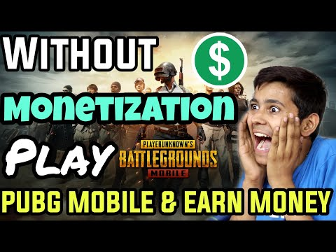 Without Youtube Monetization Adsense Earn Make Money By Playing PUBG Mobile Game With Live Stream 😳