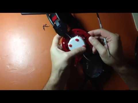 Как разобрать наушники bloody g300